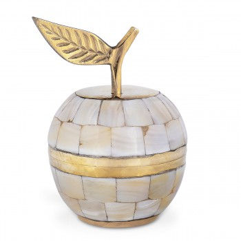One Leaf Brass Apple