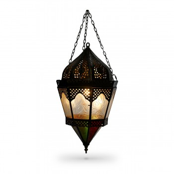Ceiling Pendant With Glass Decorations