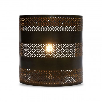 Wide Cylinder Wall Light