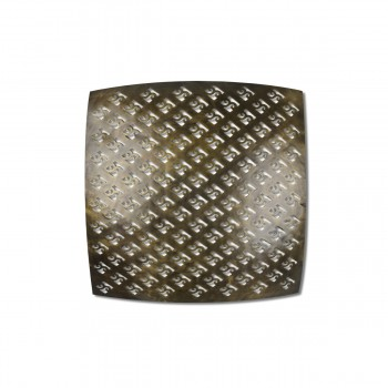 Square-Shaped Brass Ceiling Lantern