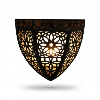 Majestical Gorgeous Brass Wall Lamp
