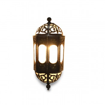 Syrian Brass Wall Light