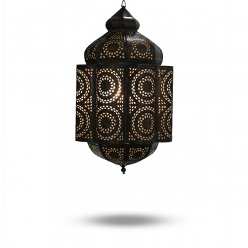 Astonishing Syrian-Design Brass Hanging Pendant