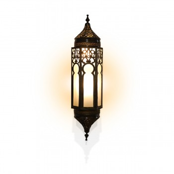 Stunning Syrian-Design Brass Wall Light