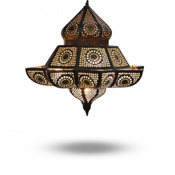 Amazing Brass Ceiling Pendant Syrian-Style