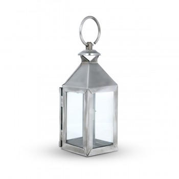 Gorgeous Standing Light Metal and Glass Design