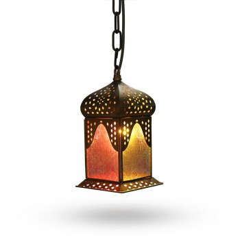 Charming Syrian-Design Candle Lantern