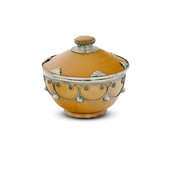 Moroccan Container With a Removable Lid