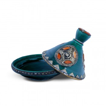 Nifty Clay Tagine Brass Desing