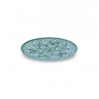 Nature-Inspired Decorated Plate