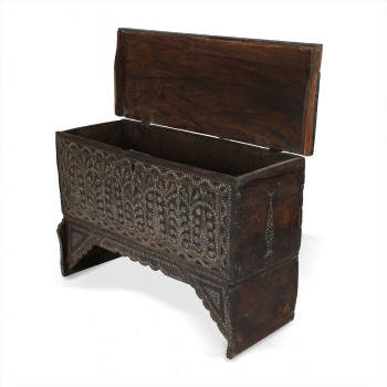 Syrian Style Wooden Console Oriental Design