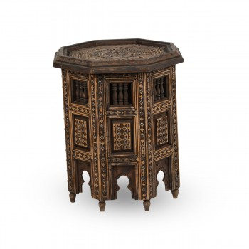 Marvelous Carved Wood Table