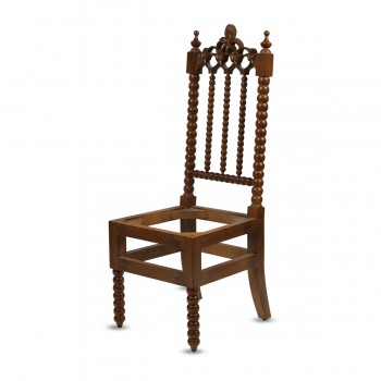 Hand Made Carved Wood Table and Chairs